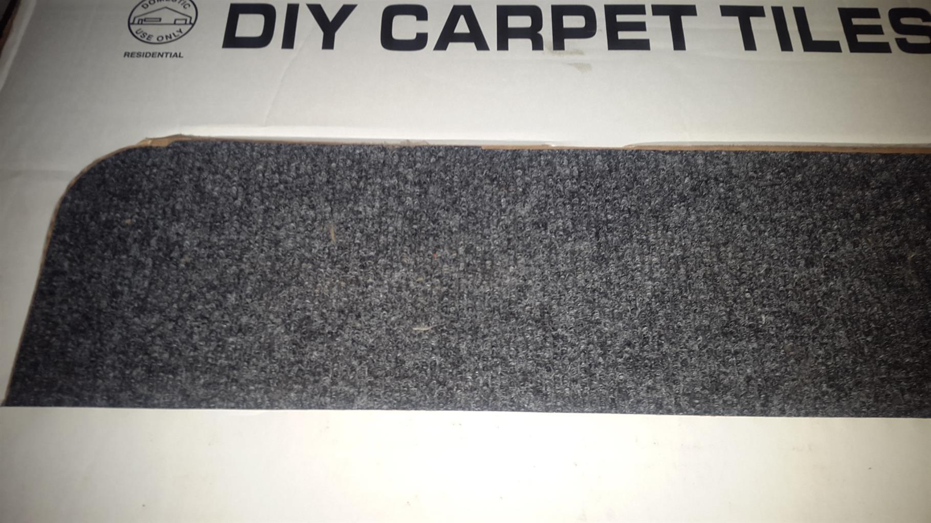 DIY CARPET TILES