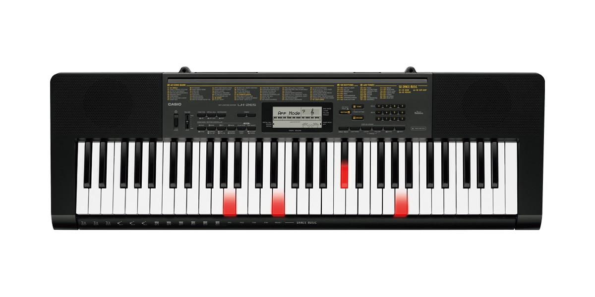 CASIO LK265 Dance Mode keyboard,new!