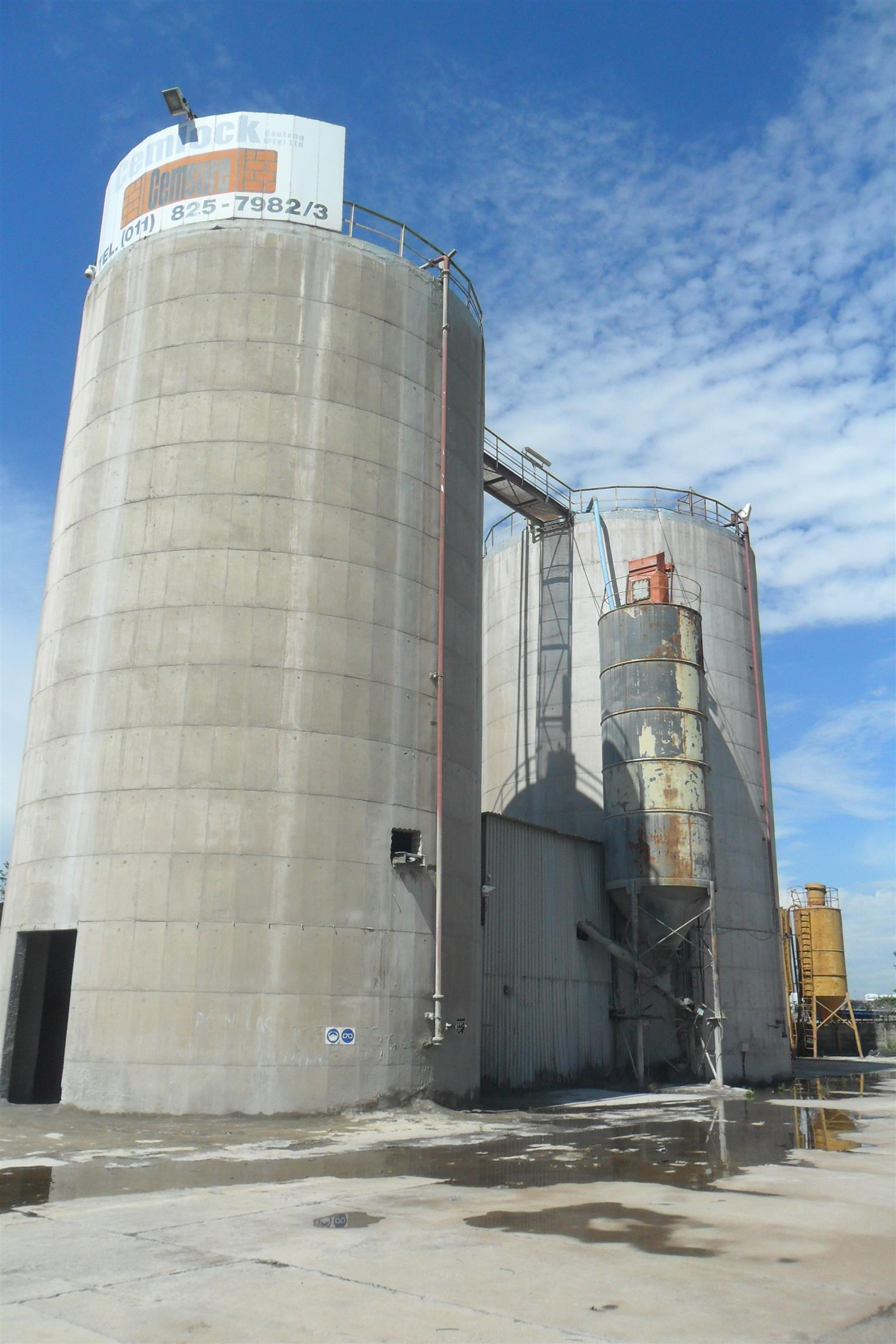 Cement Blending Plant, For Sale/To let in Germiston.