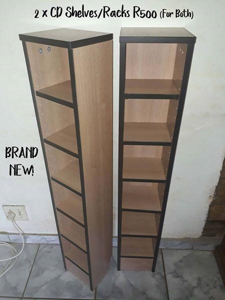 2 x CD Shelves/Racks