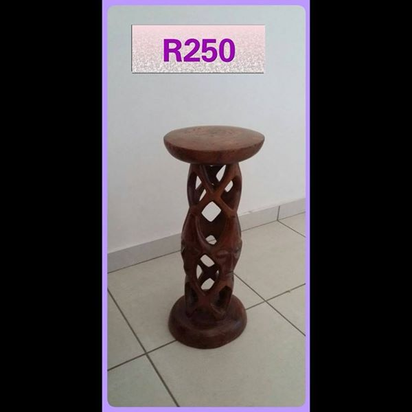 Wooden ornament stand