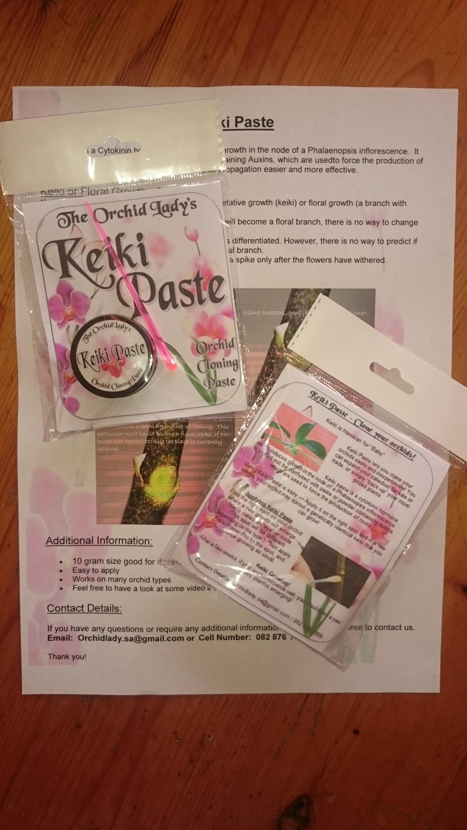 Keiki Paste For Orchids