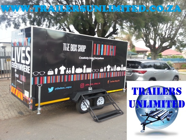 THE BOX SHOP   TRAILERS UNLIMITED.