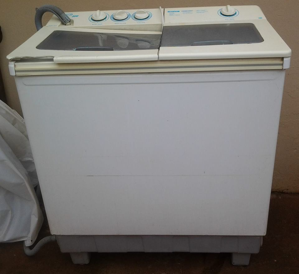 twin tap washing machine