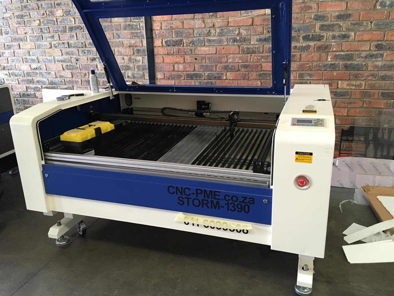 kl storm laser cutting /engraving mach flat bed 1390x80 w