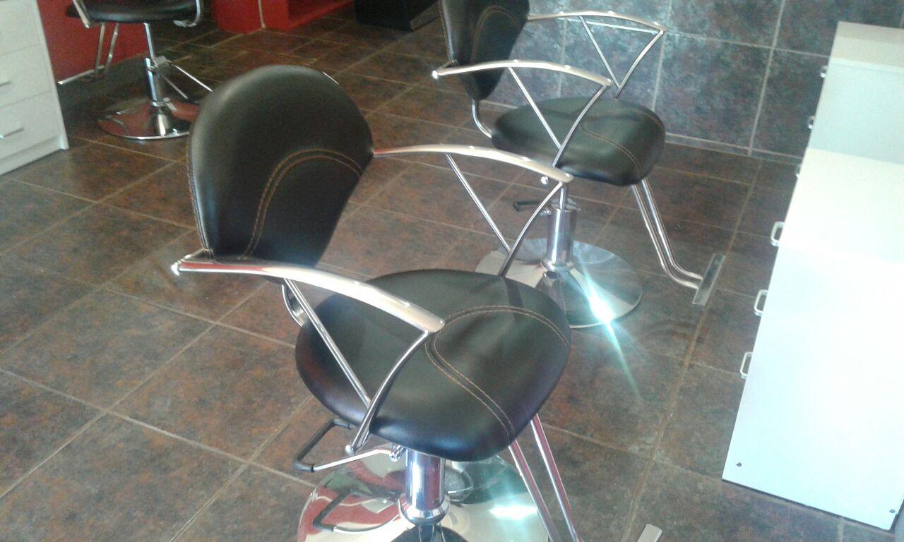 Salon Chair, Washbasin, Bed