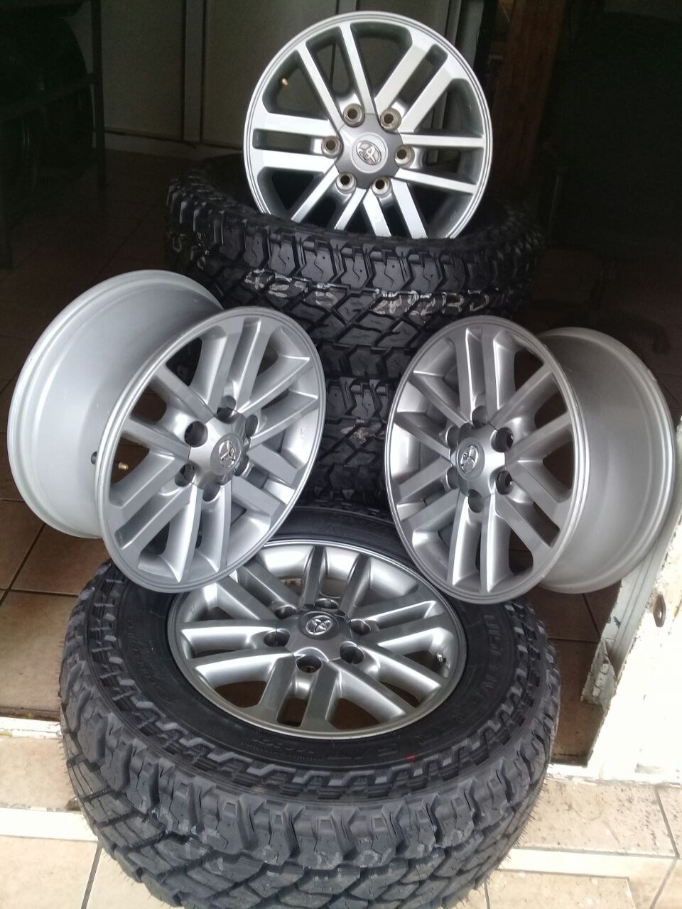 New/used bakkie tyres and rims on special