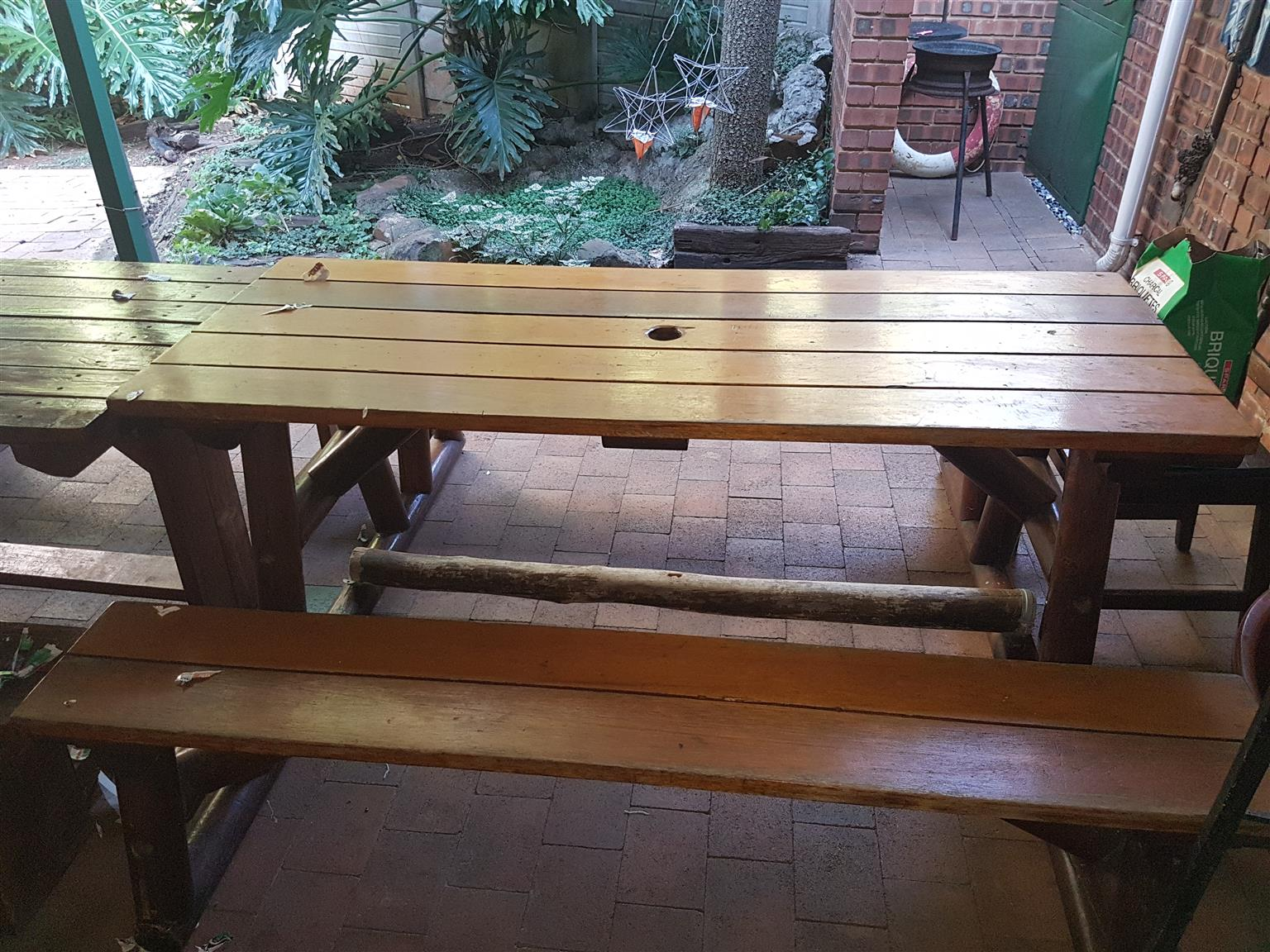 Dross table 8 seater