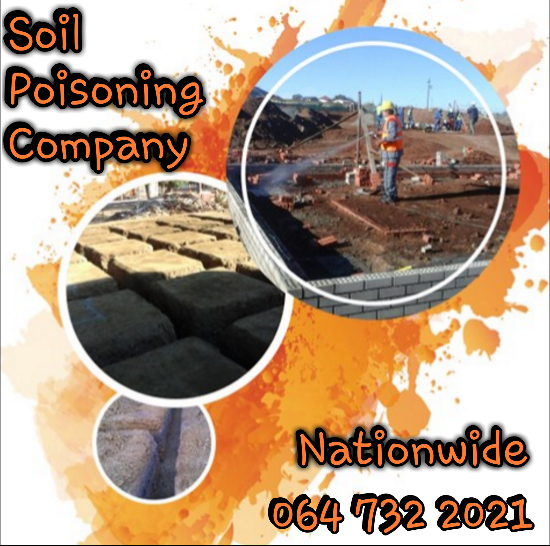 Soil Poisoning Contractor - 064 732 2021 - Soil Poisoning