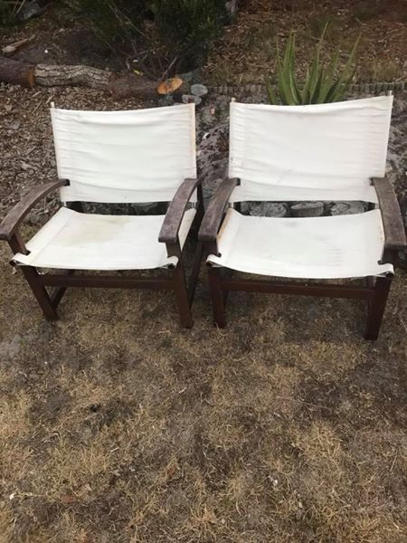 2 x Outdoor Chairs