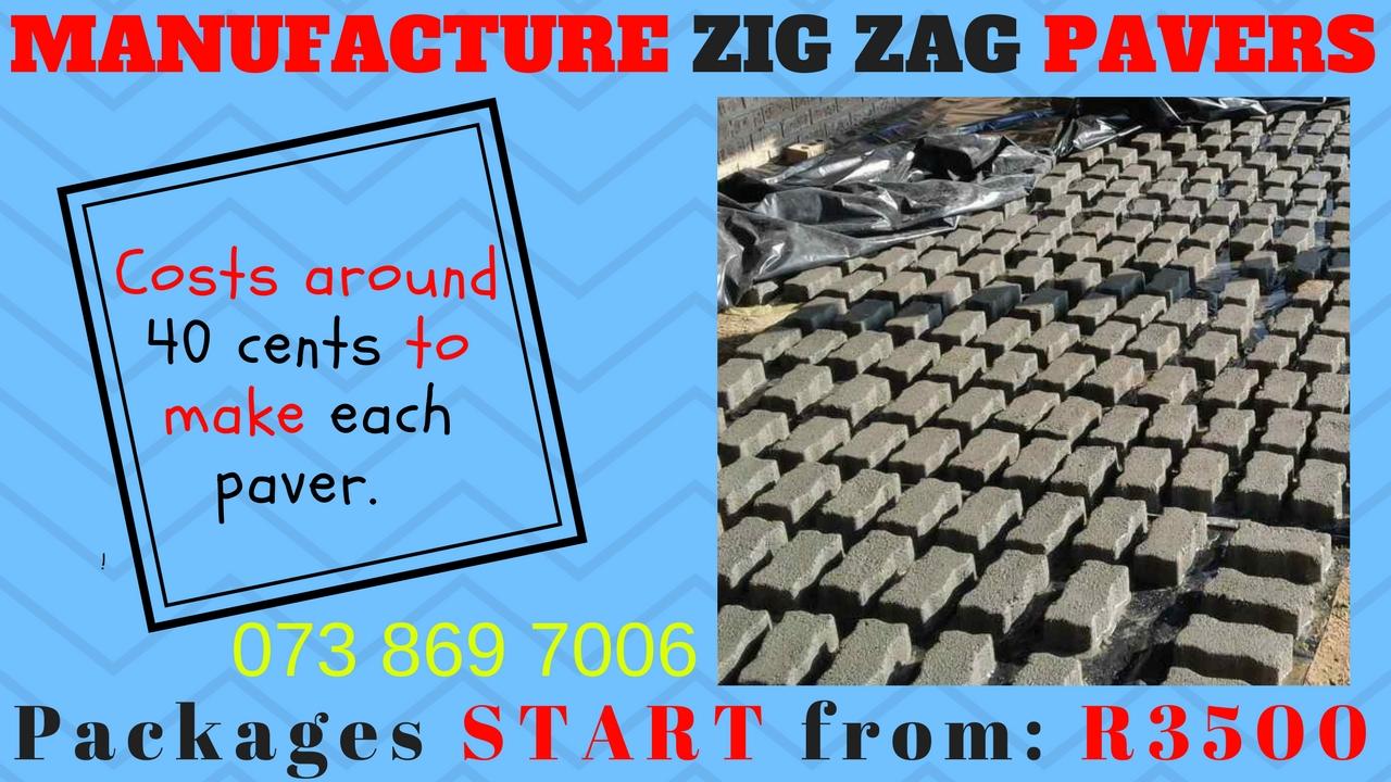 ツ ZIG ZAG paving Manufacturing ツ