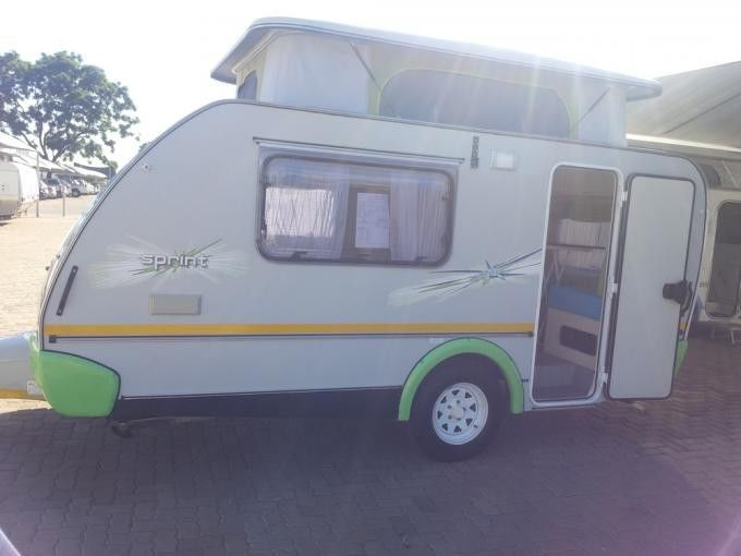 Sprite Sprinter caravan