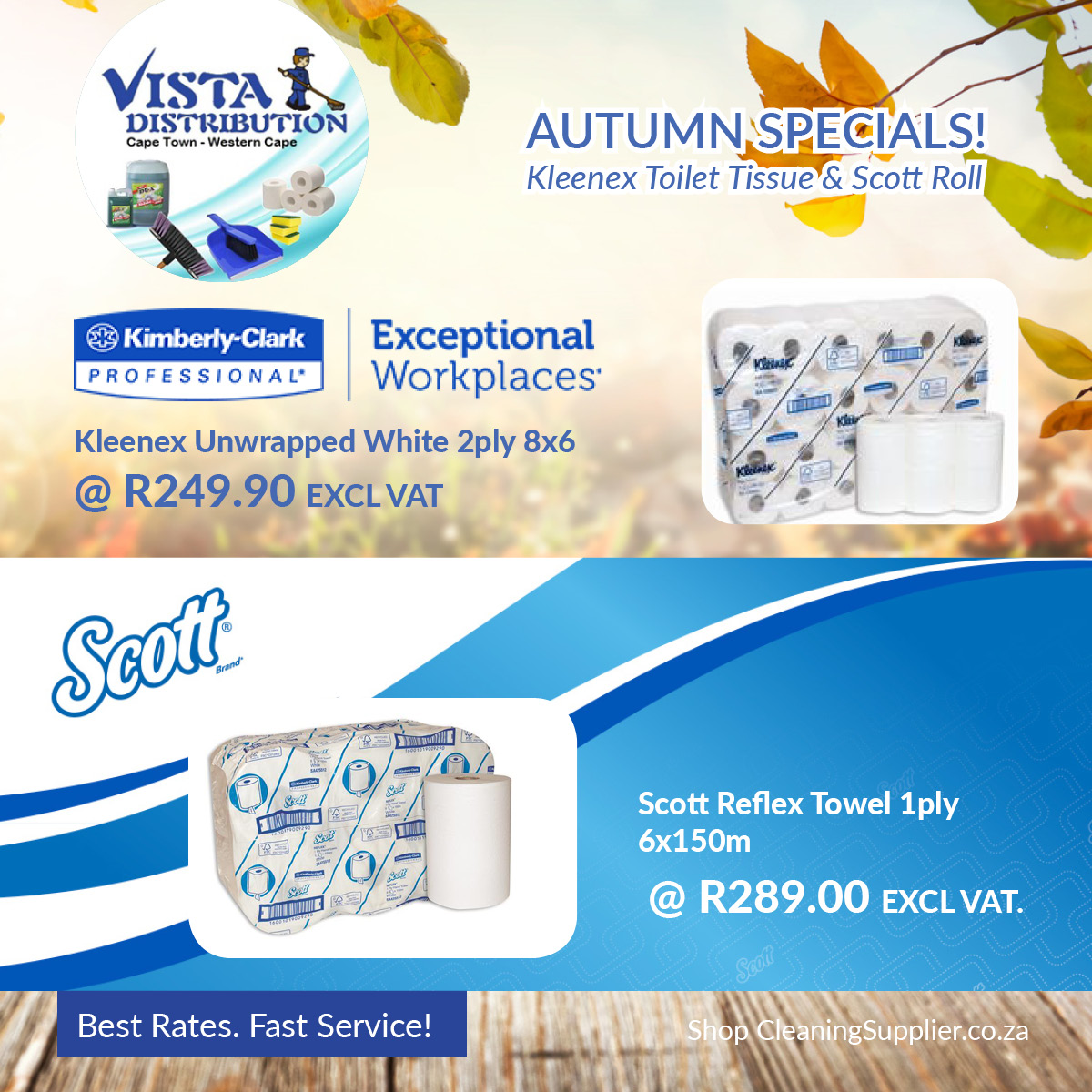 Cleaning and Catering Products at SUPER LOW PRICES!