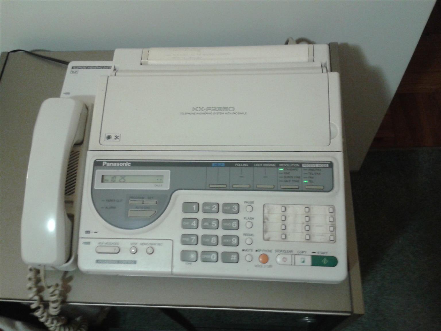 Telephone Answering System with Facsimile, Panasonic