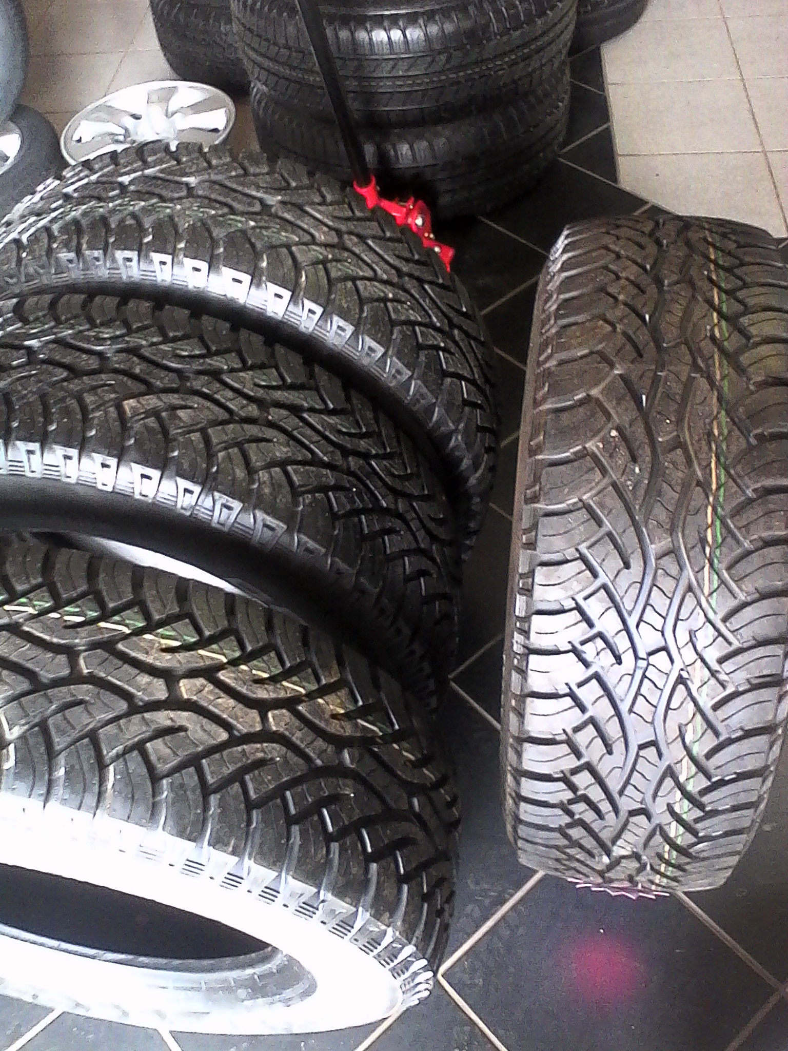 265/65/17 continental cross contact A/T 4x new tyres for your bakkie or suv r6799