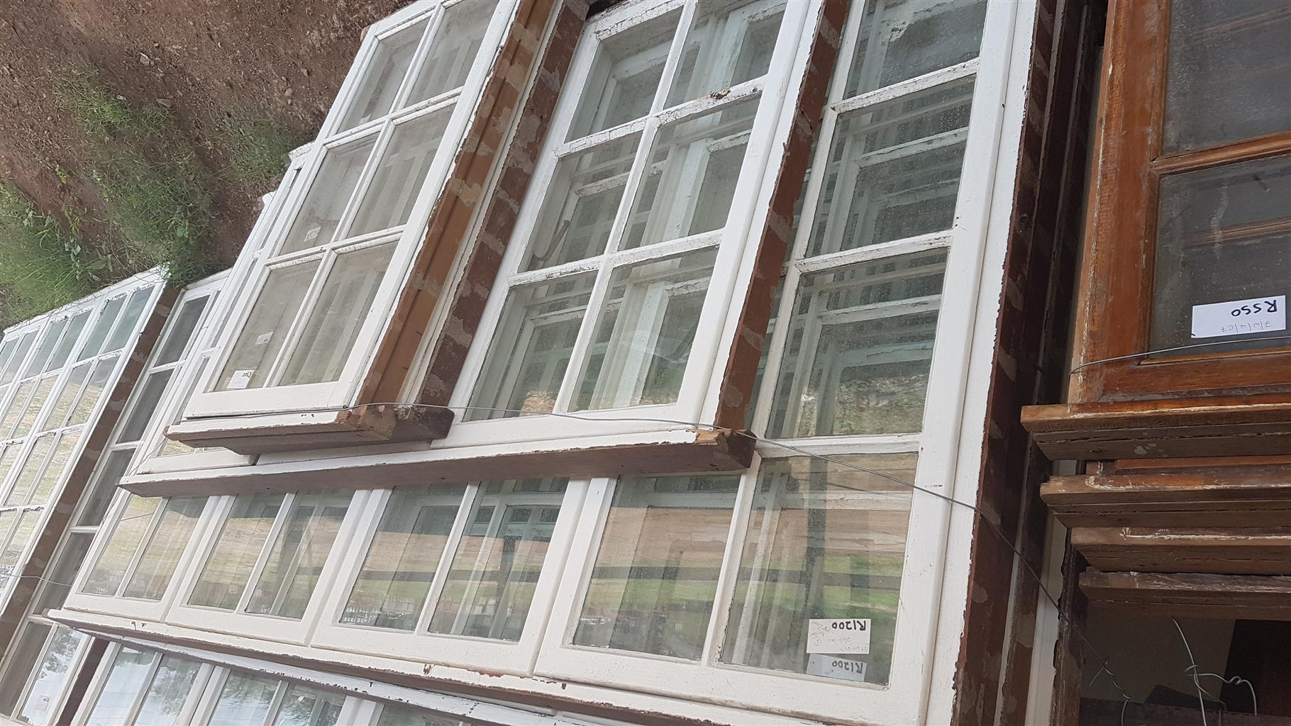 Used2nd Hand Wooden Window Frames For Sale Junk Mail