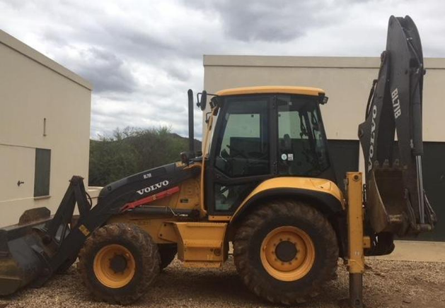 2014 Volvo BL71B CONTRACTOR BACHOE LOADER (TLB) for sale