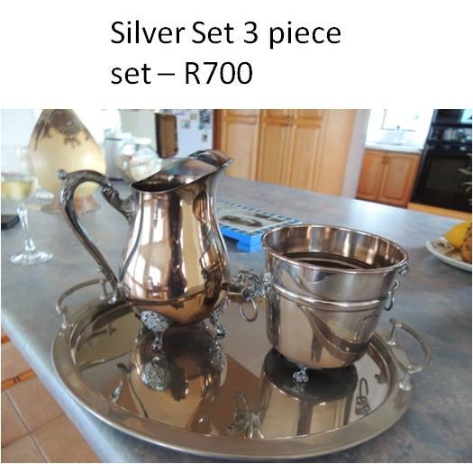 3 Piece silver set