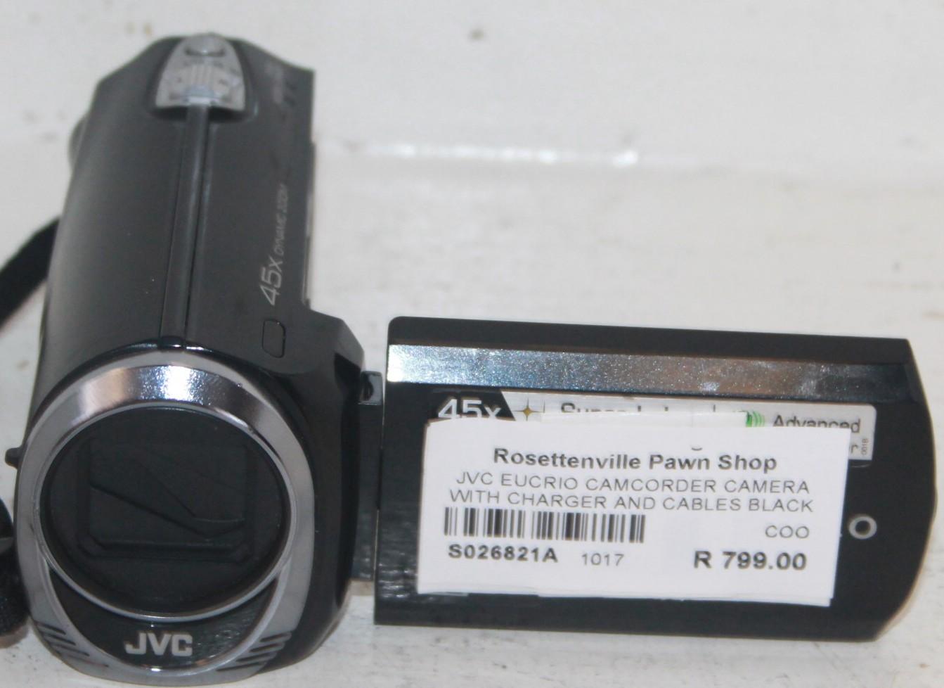 JVC camcorder S026821a #Rosettenvillepawnshop