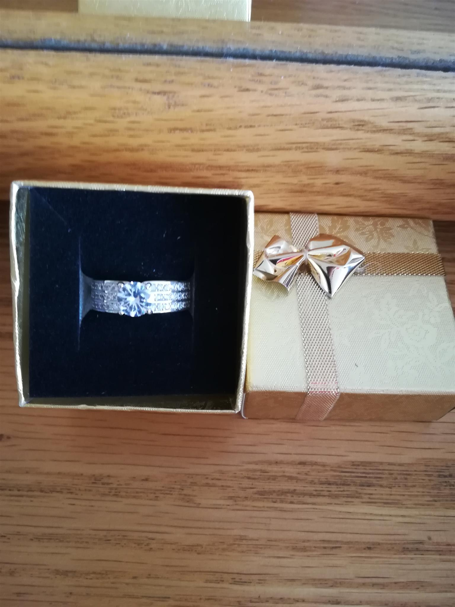 Ring New in box great for Mothers day