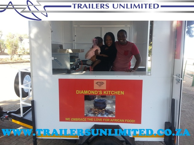 TRAILERS UNLIMITED 2000 X 1800 X 2000 FOOD UNIT.