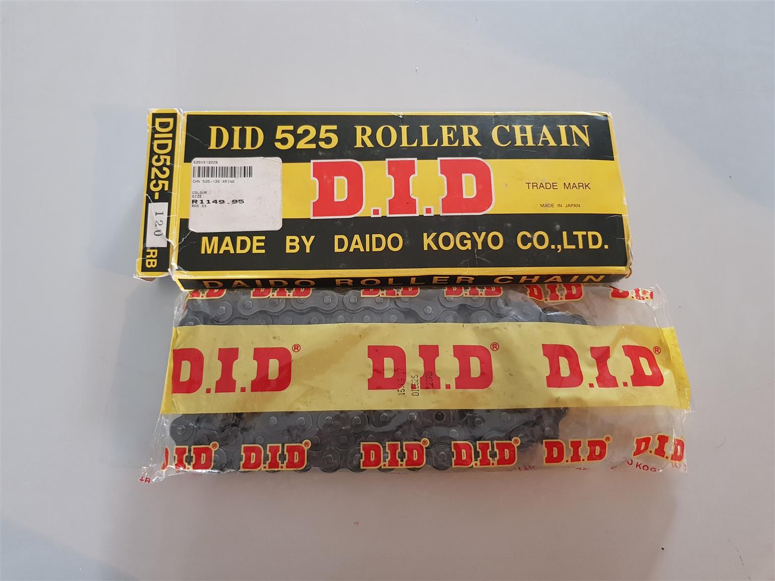 Did 525 chain brand new
