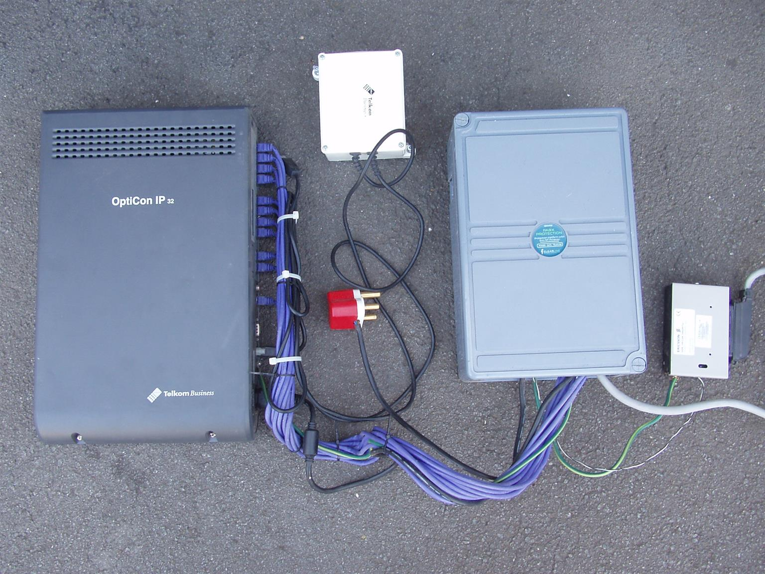 Opticon IP32 PABX System - complete