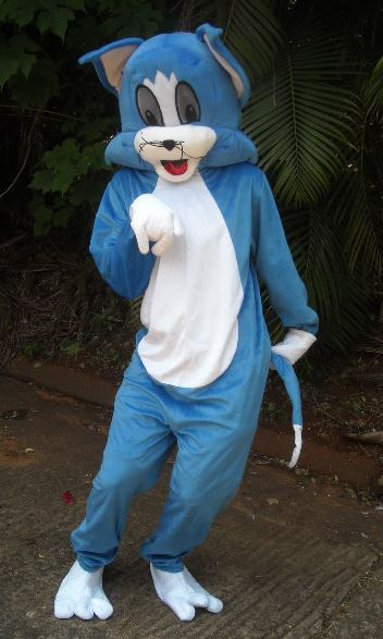TOM CAT MASCOT COSTUME : junk mail costume  - Germanpascual.Com