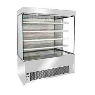 Open display fridge-1300 s/steel-FGOR1300LB