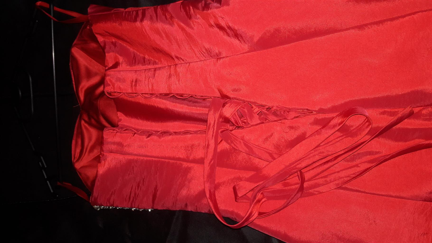 Red matric dress/ red dress/ evening wear/ dress