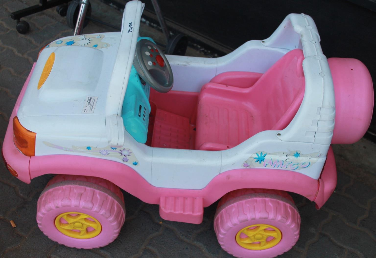 Kids electric jeep S026956a #Rosettenvillepawnshop