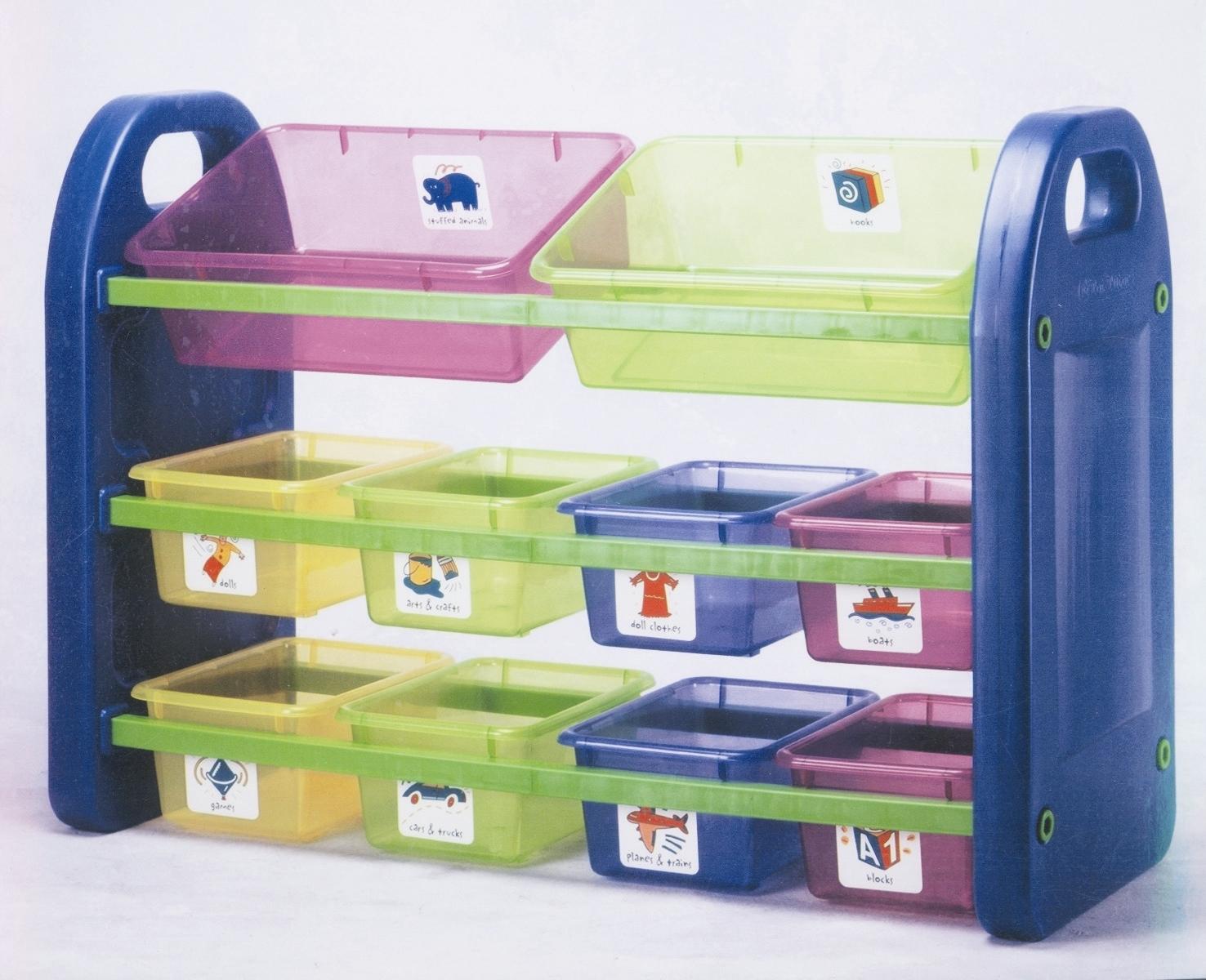 10Bin 3 Tier Storage Organizer - Brand New in Cartons