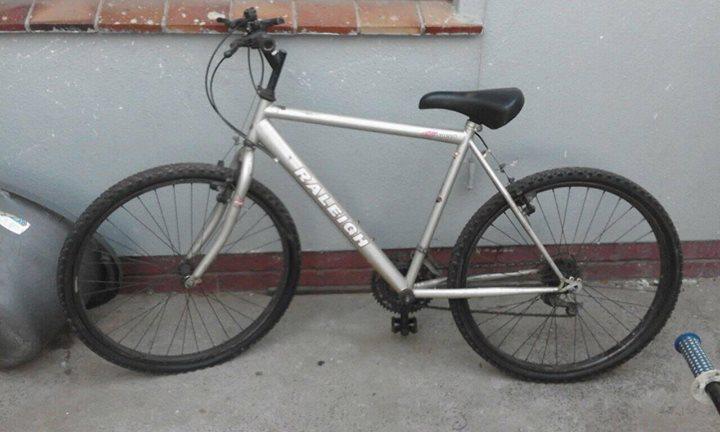 Raileigh 26 bike