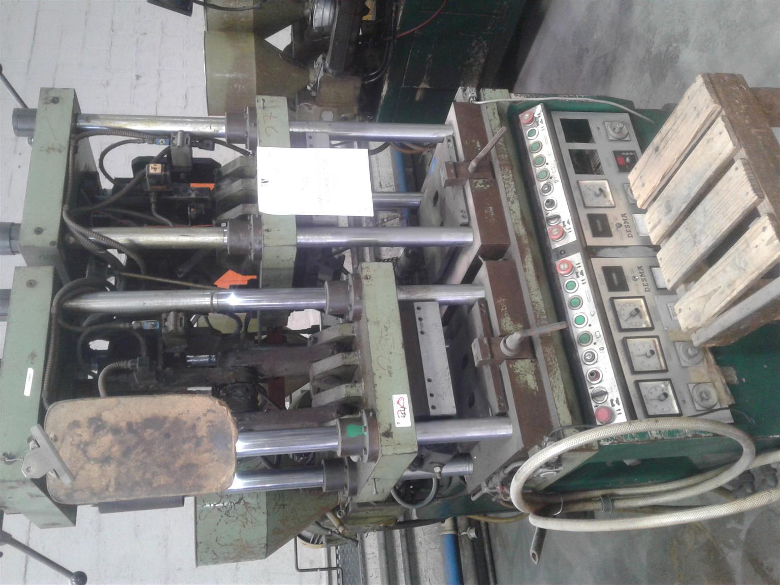 Desma Horizontal Twin Station Injection Molder for sale