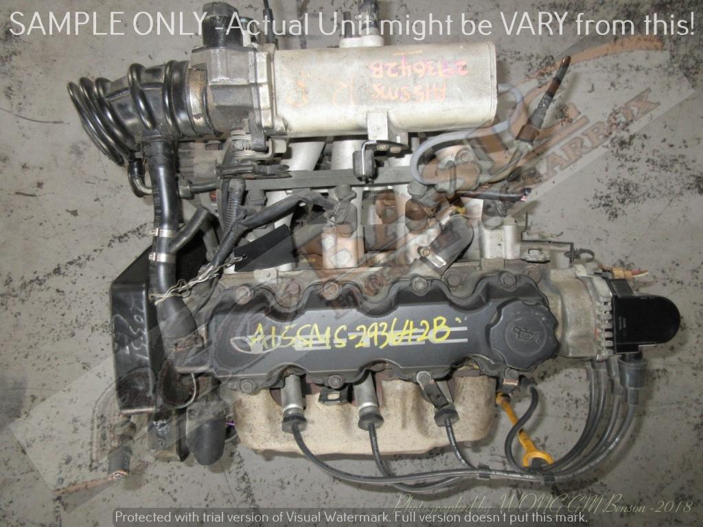 DAEWOO LANOS -A15SMS 1.5L EFI 16V Engine