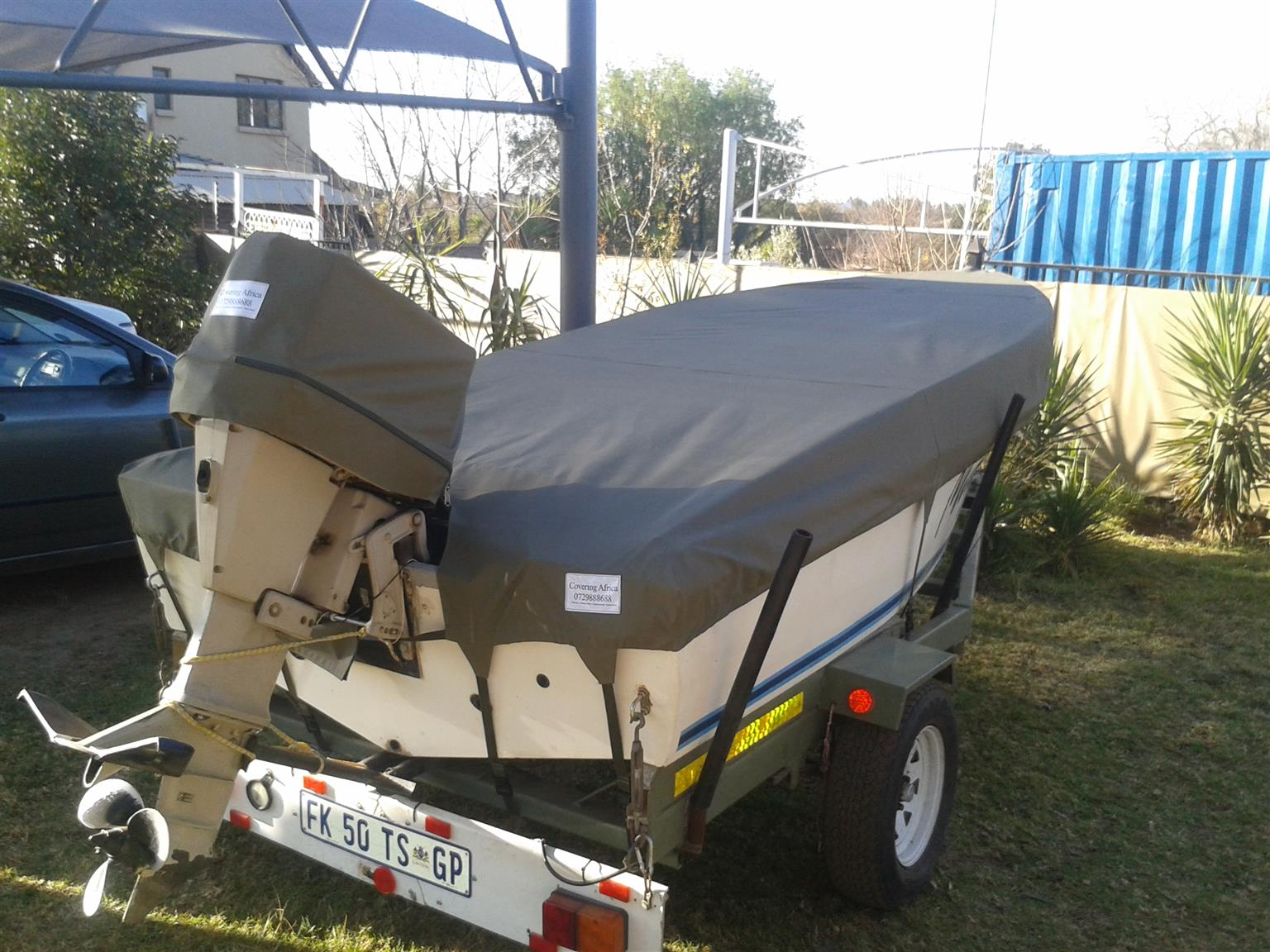 Speed boat covers
