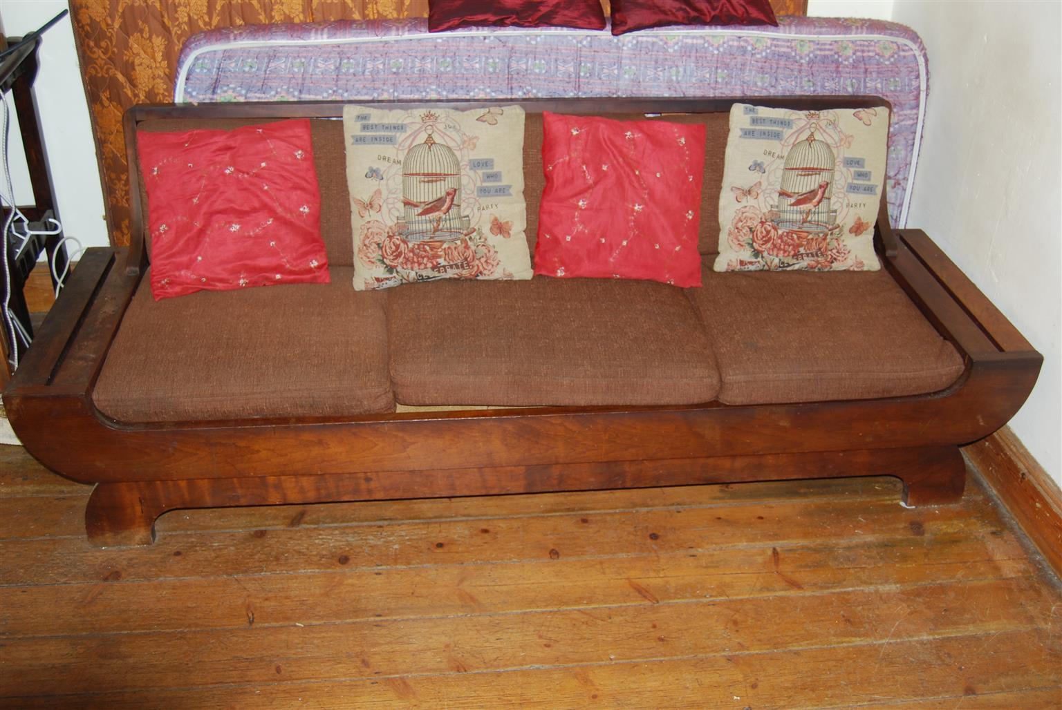Rhodesian Teak living room suite