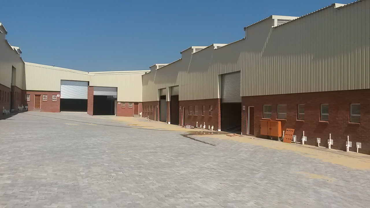 newly developed warehouses