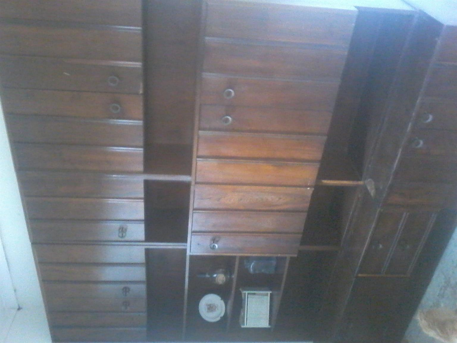 A dining room cupboard