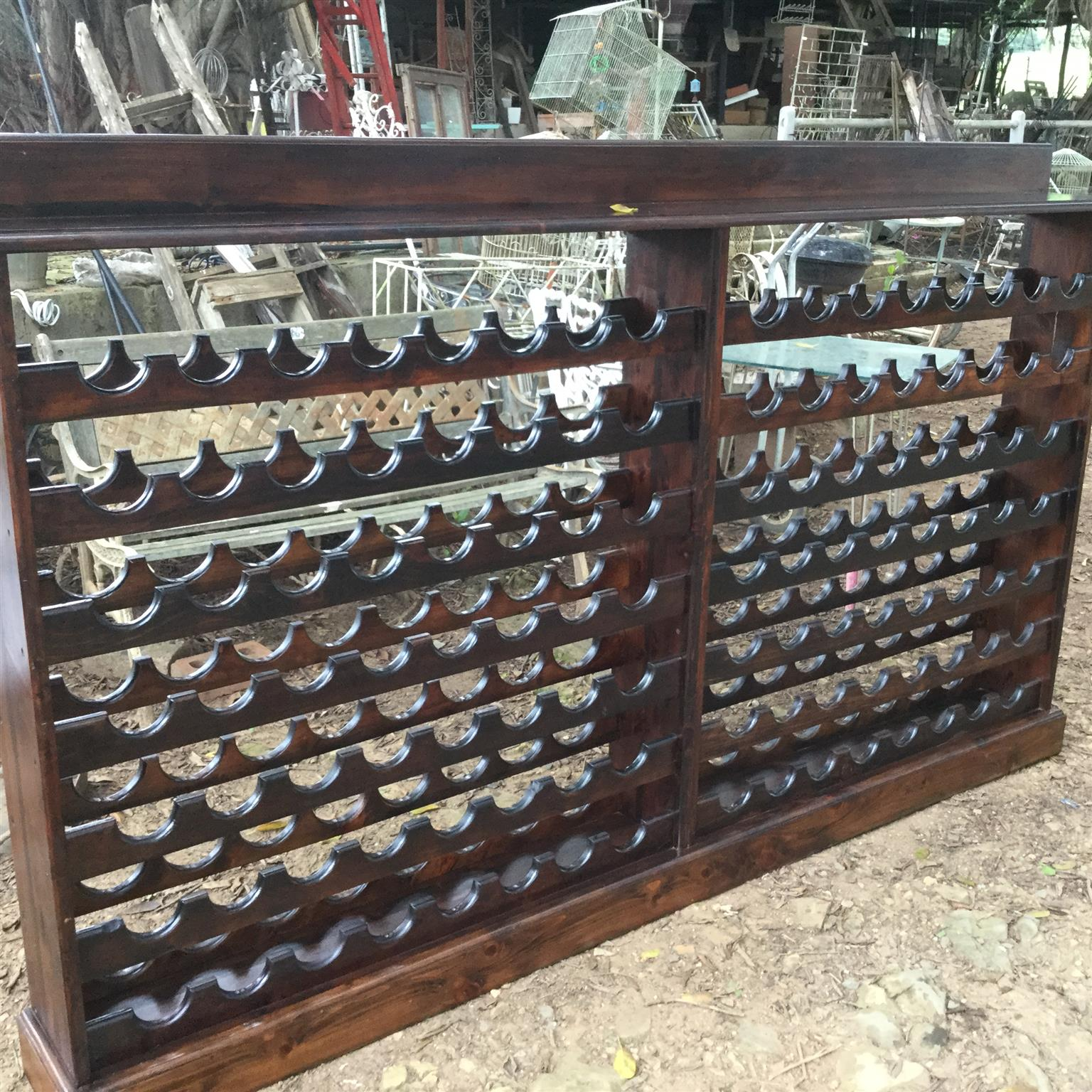 BIGGEST wine rack see it at 66 Old Main Road Bothas Hill