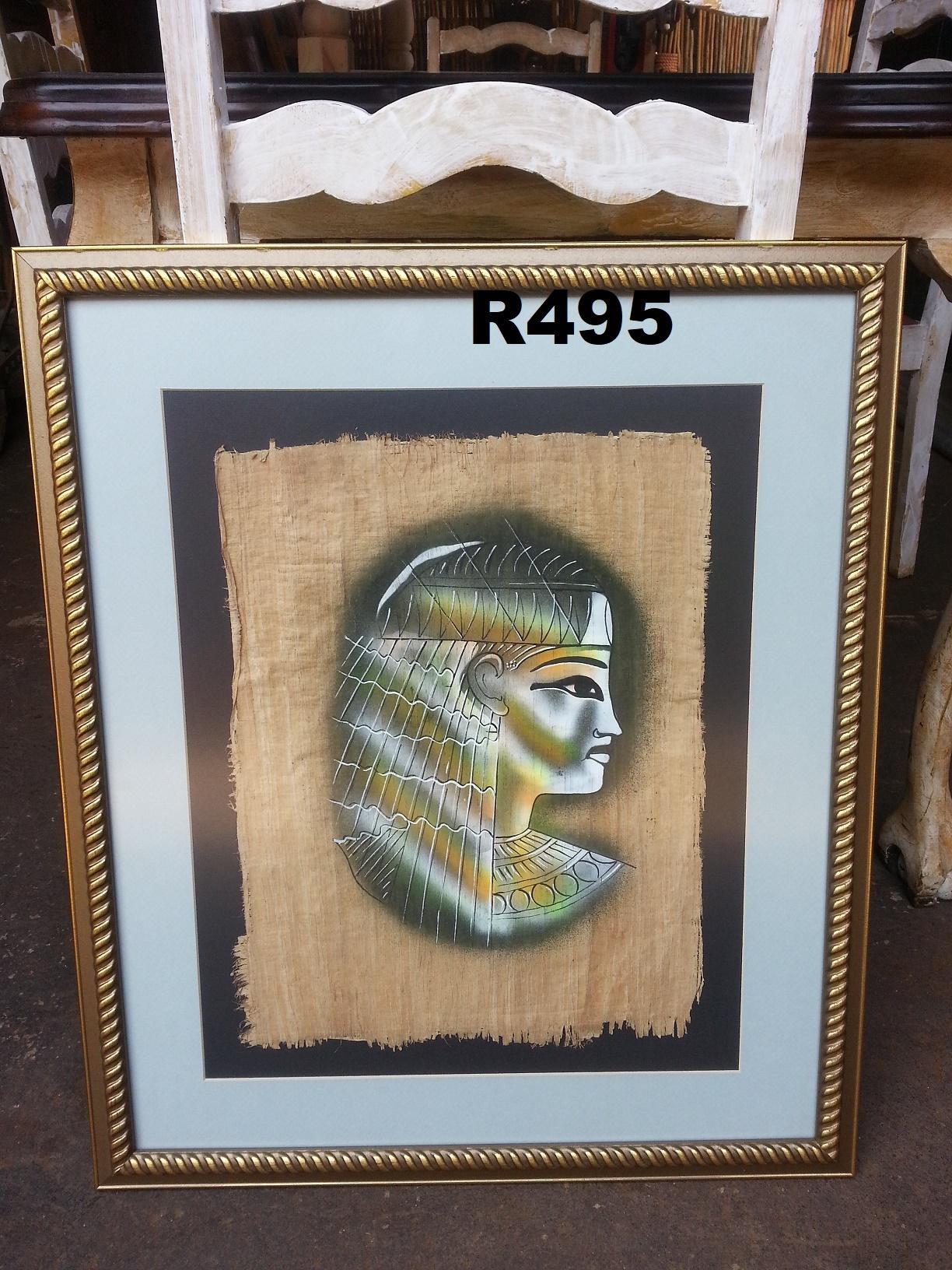 Classic Papirus Painting (570x675)