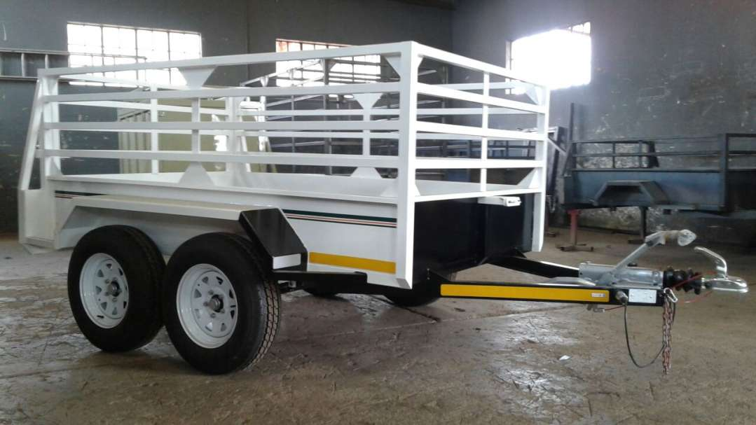 2.4M DOUBLE AXLE UTILITY TRAILER WITH BRAKES FOR SALE