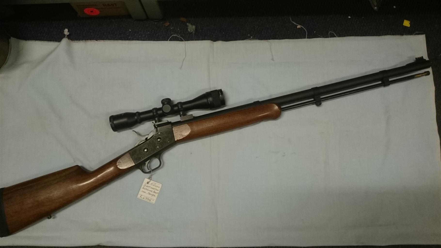 Pedersoli  50cal Remington rolling block, black powder
