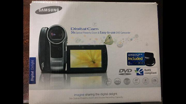Samsung Digital Video Camera