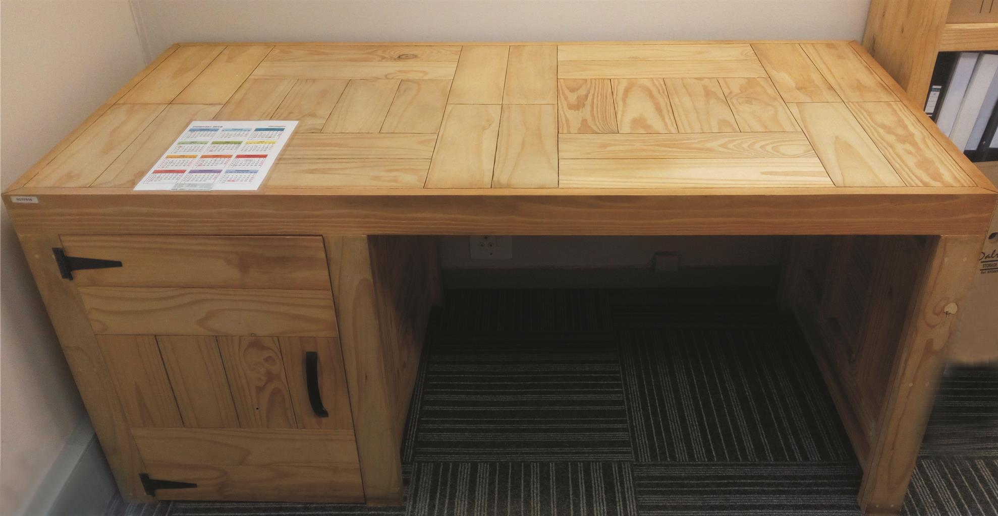 For sale: 2 x Custom-made office/study desks in excellent condition