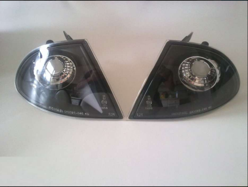 BMW E46 3 SERIES SMOKED CORNER LIGHTS SET PRICE R595