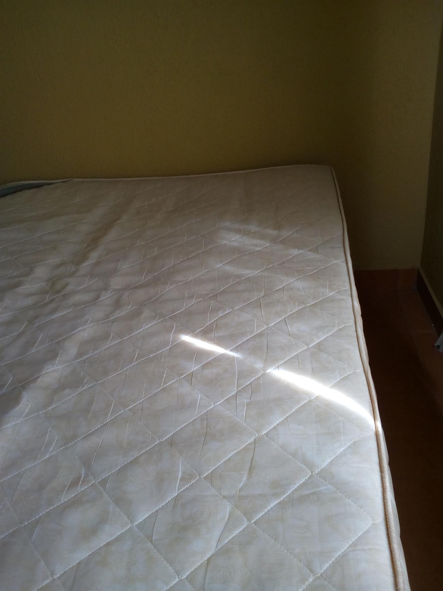 Base and mattress