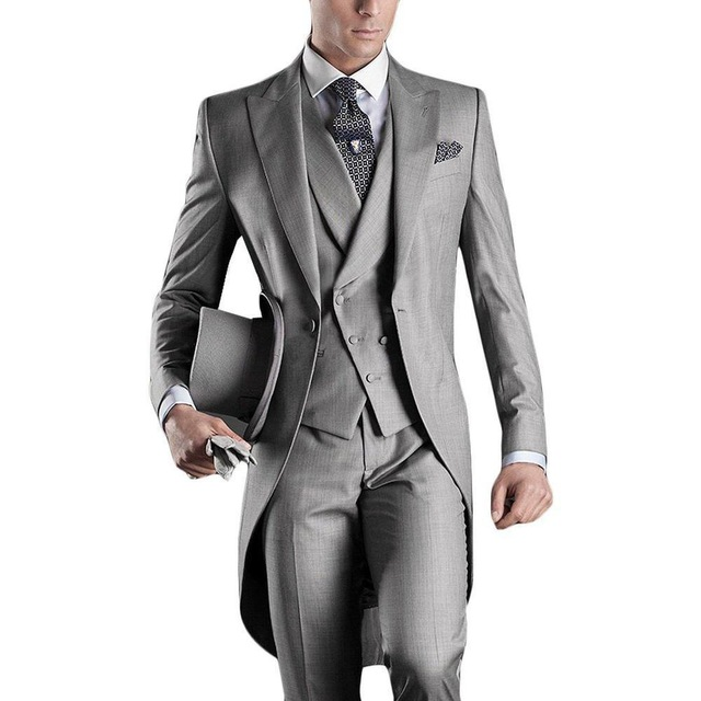 Perfect Popular Classic Tuxedo for Formal Occasions Weddings and Prom (XS - 5XL)