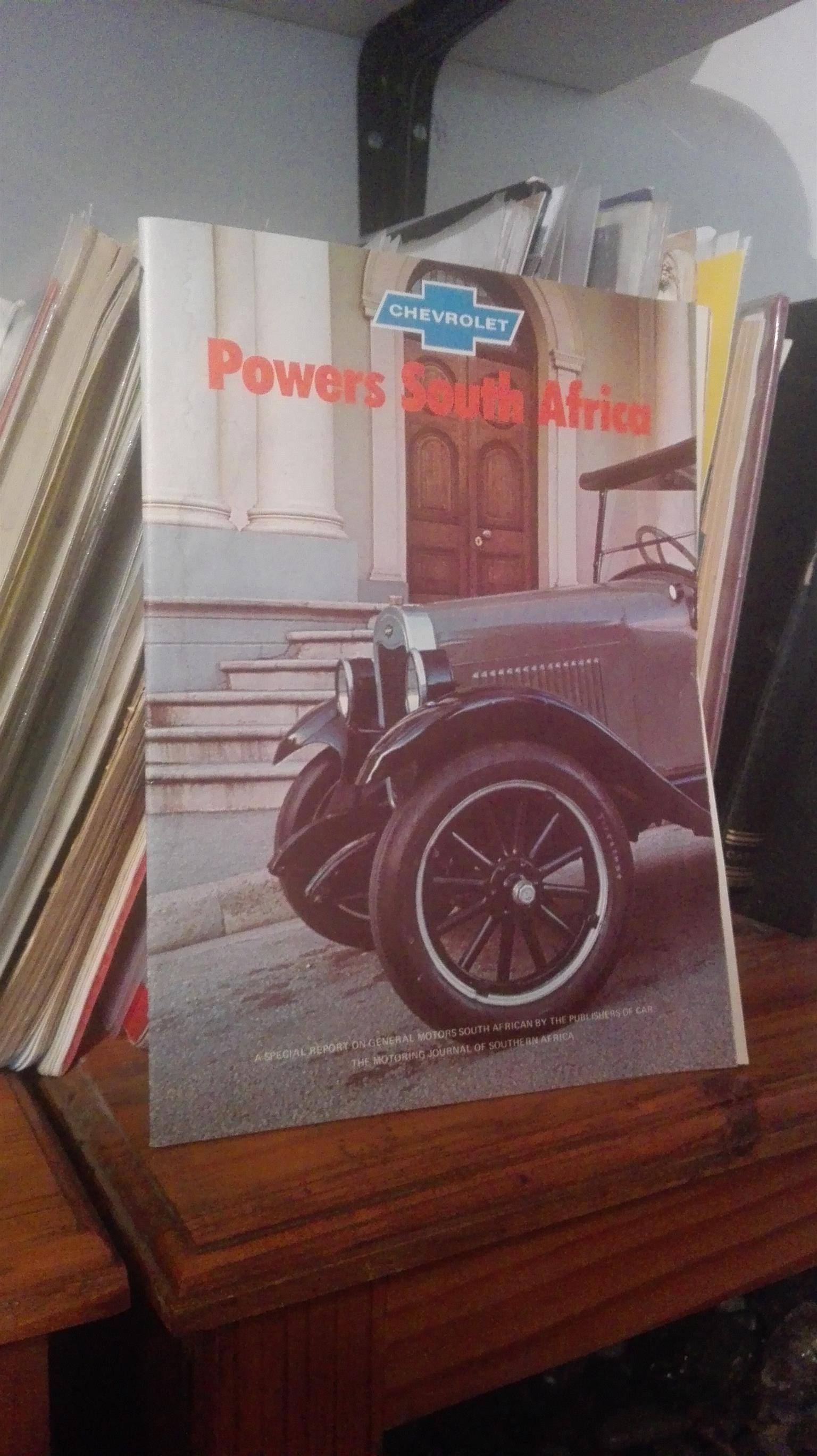 Chevrolet South Africa: Original special report