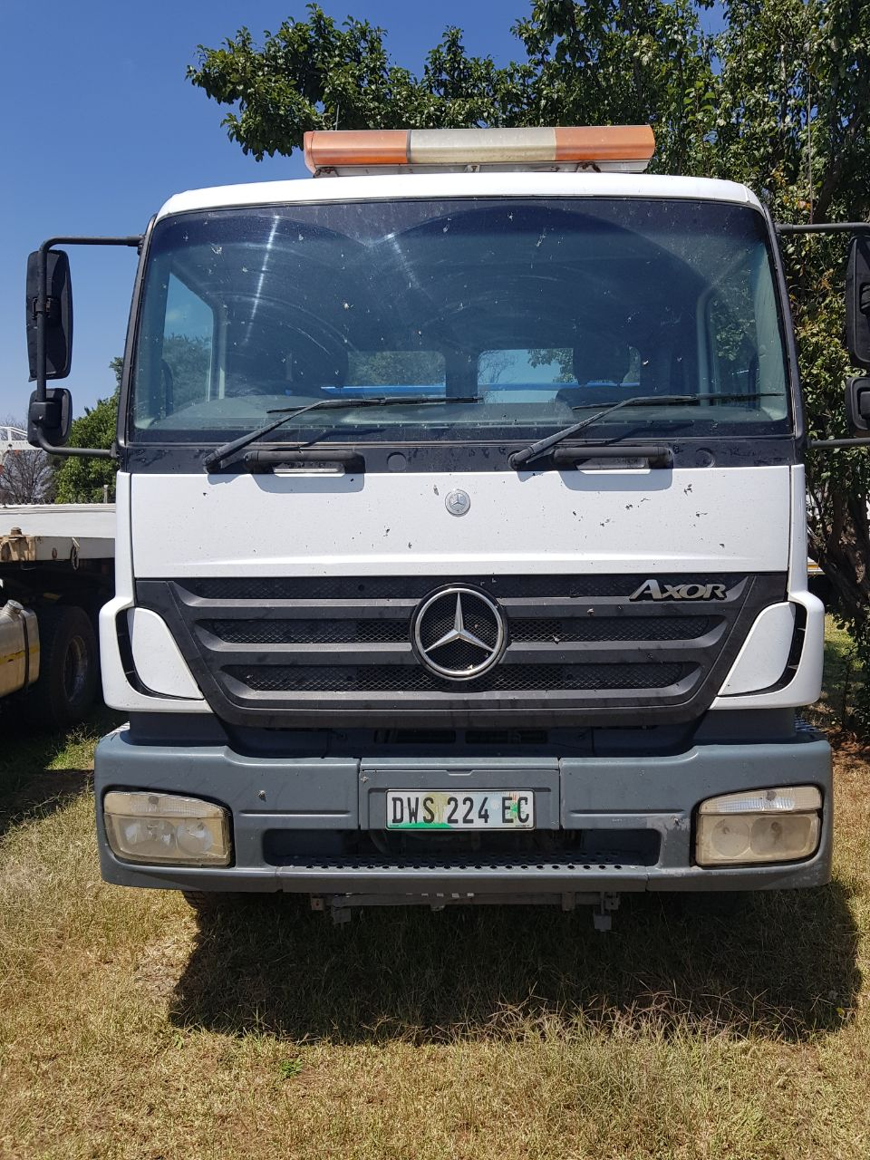 2007 Mercedes-Benz 2628 Axor, Rollback truck for sale.